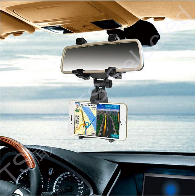 car rearview mirror phone stand cradle